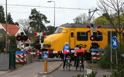 Spoorwegovergang Station Bilthoven