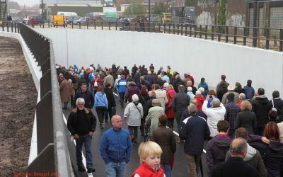 Opening autotunnel Bilthoven