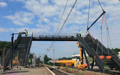 Loopbrugbouw juni 2012