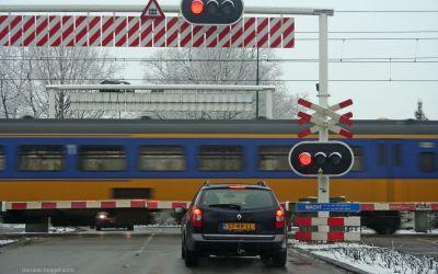 Spoorwegovergang De Leijen