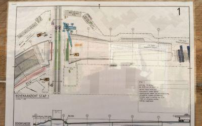 Leijen tunnel oktober 2016 spoordek-schema