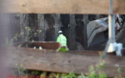 Leijen tunnel 29 oktober 2016 spoordek