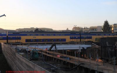 Leijen tunnel 30-31 oktober 2016 spoor terug inbouwen