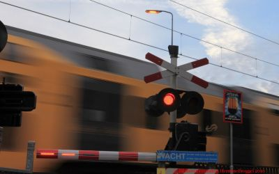 Spoorwegovergang Bilthoven in 2010