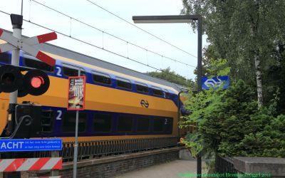 Spoorwegovergang Bilthoven in 2011